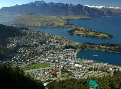 Los Fiordos y glaciares en Nueva Zelanda