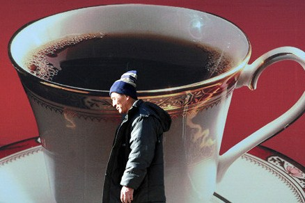 Coffee drinking lifestyle in china