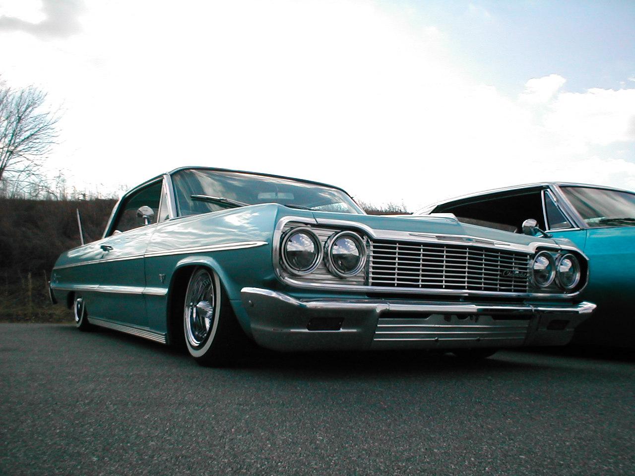 64 Impala Lowrider Wallpaper Free Wa11papers Impala 64