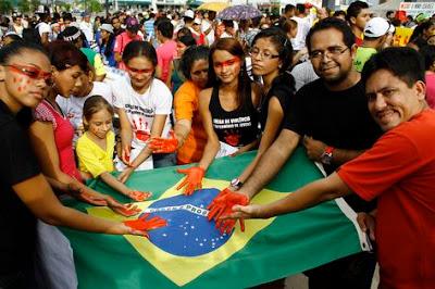 Violência, saúde e corrupção são principais problemas do país na avaliação dos brasileiros