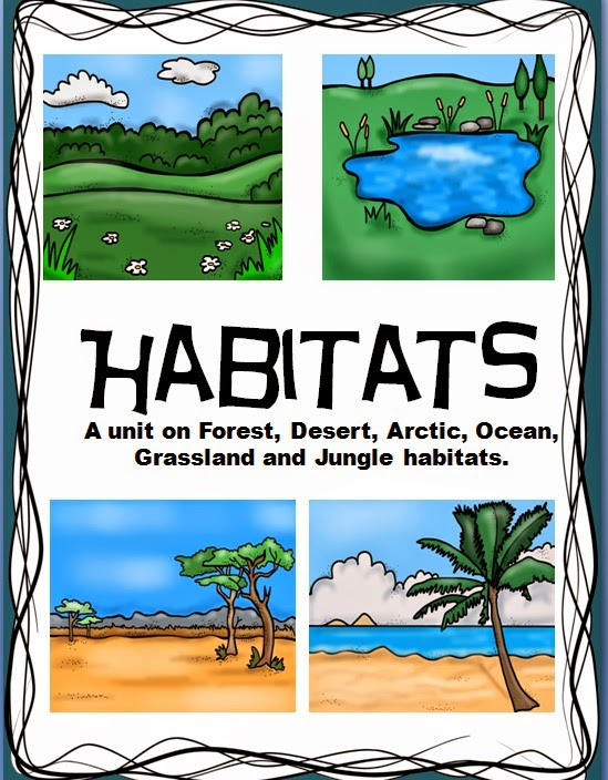 Just Another Week In Paradise on Pond Worksheets First Grade Habitats