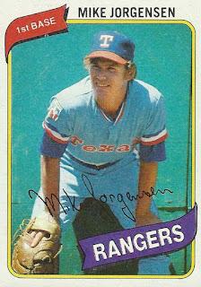 1980 Topps – Mike Jorgensen. 1980 Topps – Mike Jorgensen. 1980 2BTopps 2B 2523213