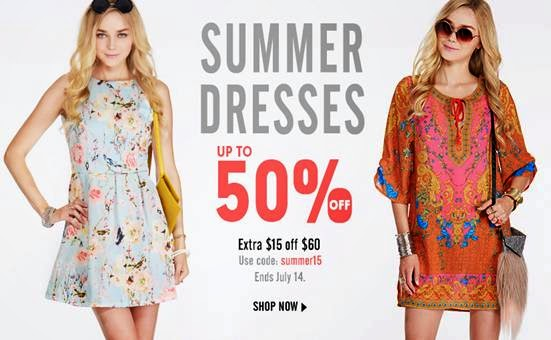 Sale of summer dresses - Summer dress style