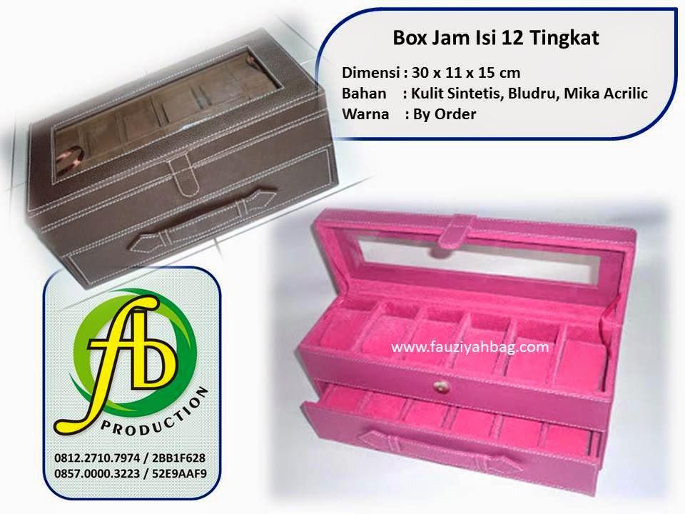 Box Jam Tingkat Isi 12