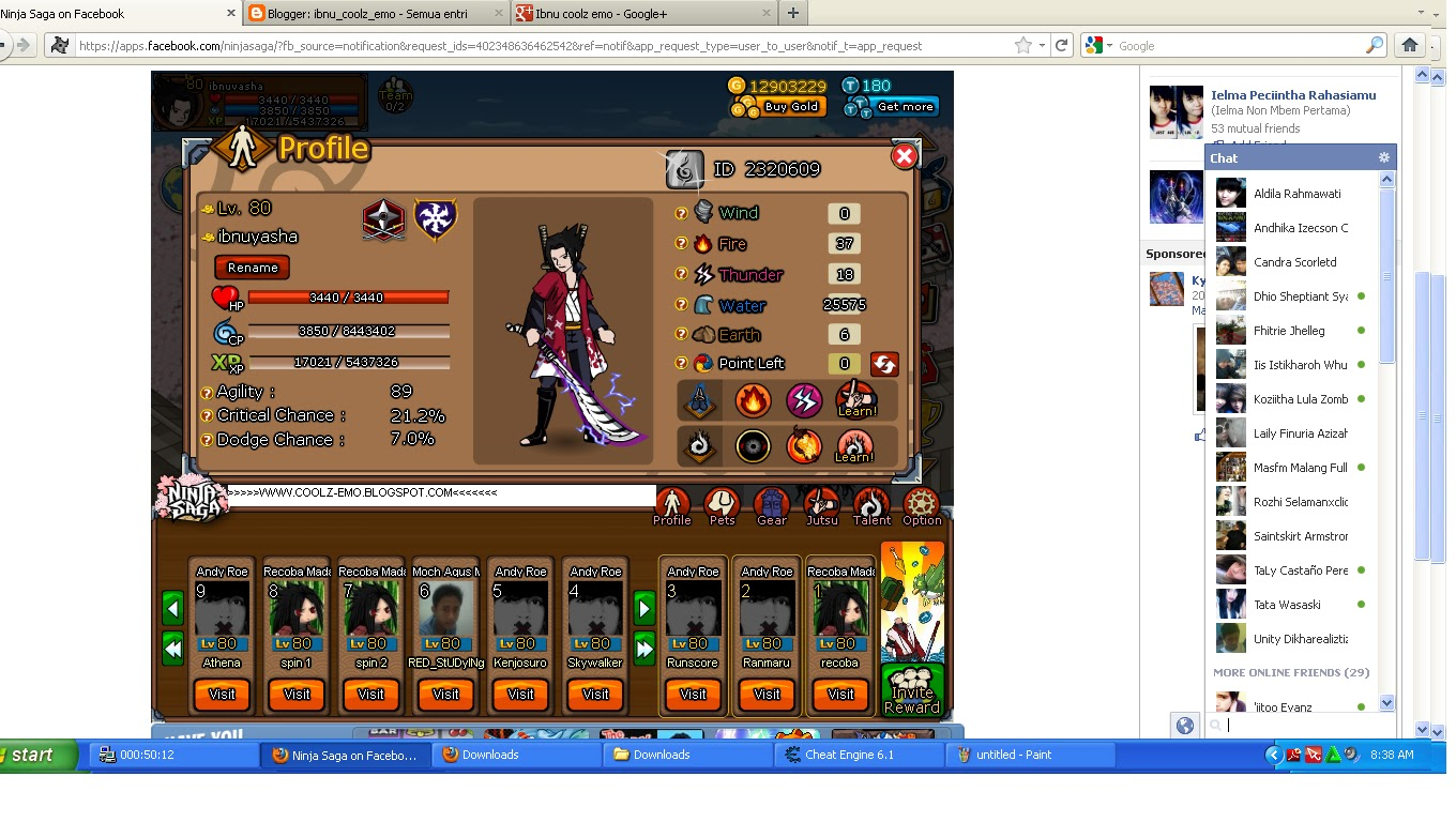 download cheat lost saga 14 april 2012