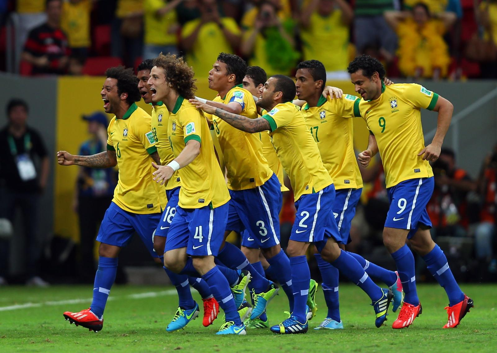 Five times world champions brazil leapt back into the top 10 of the