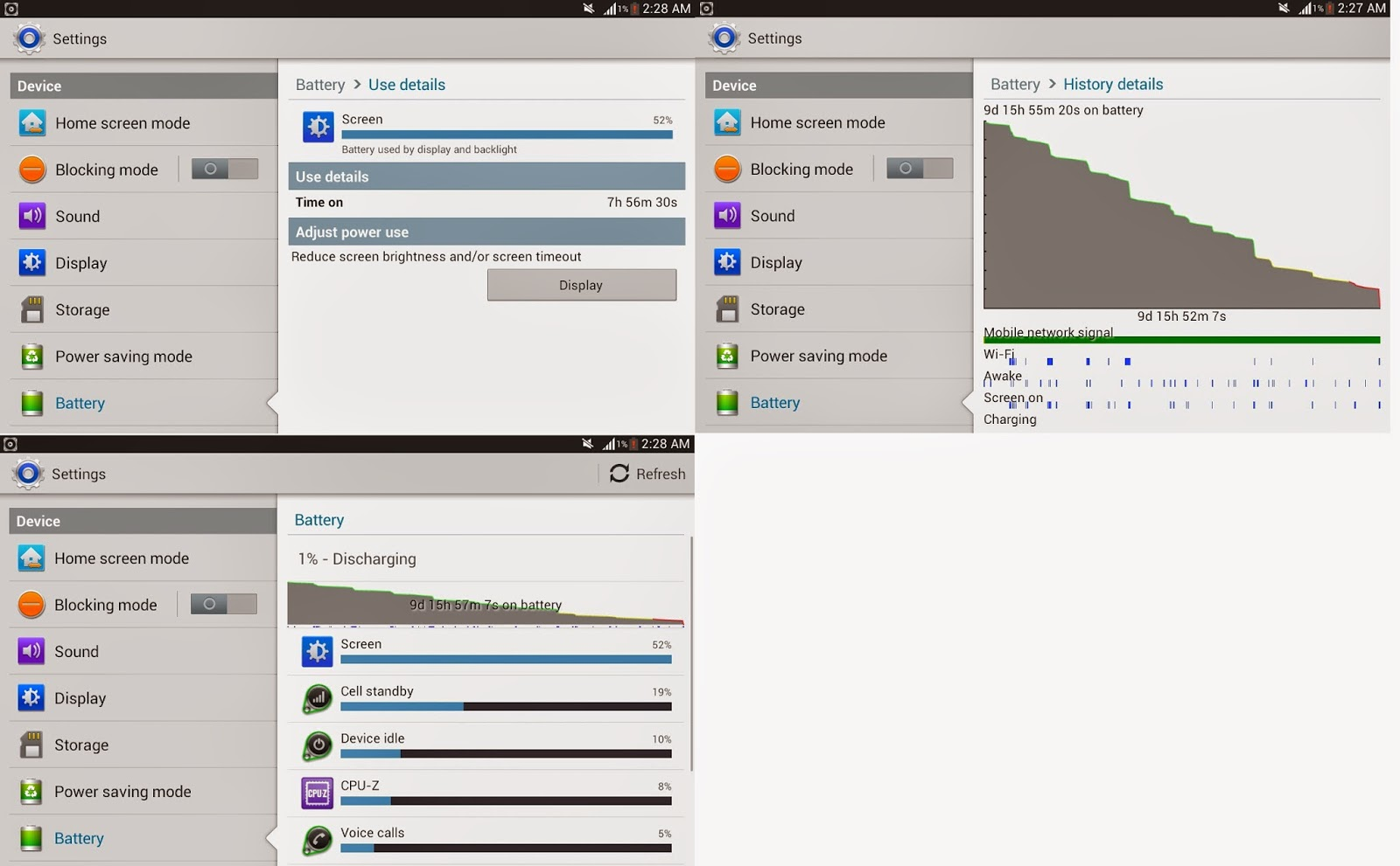 [GUIDE] Ultimate Battery Life For Note 3 [UP… | Samsung ...
