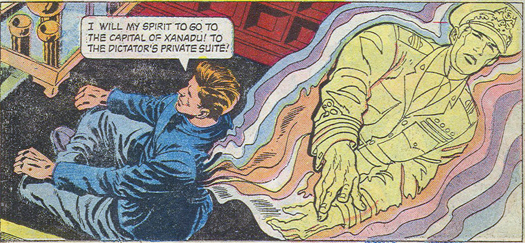 TZ 19 panel: pencils by Grandenetti, inks by Orlando