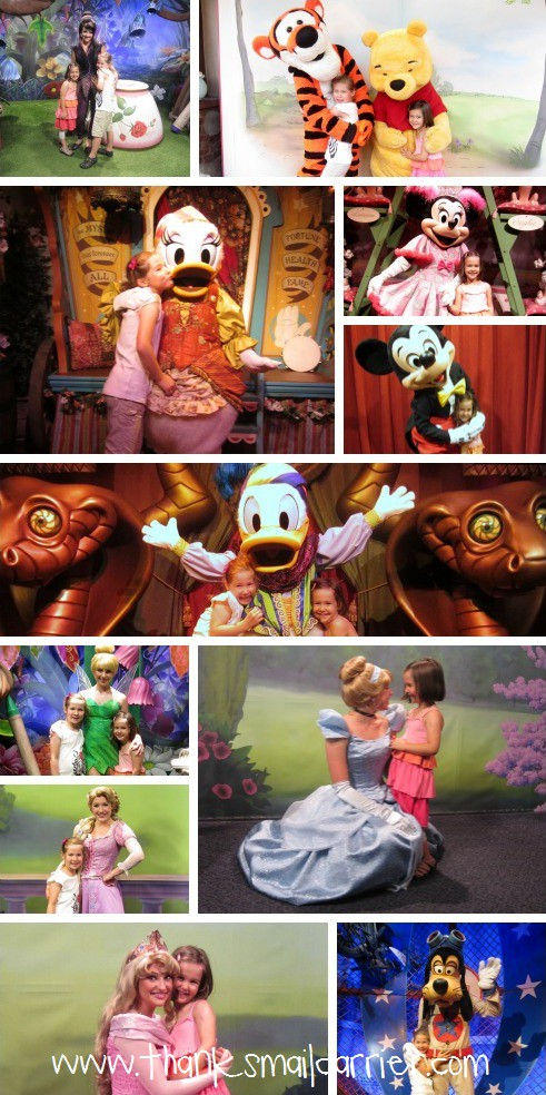 Disney World character photos