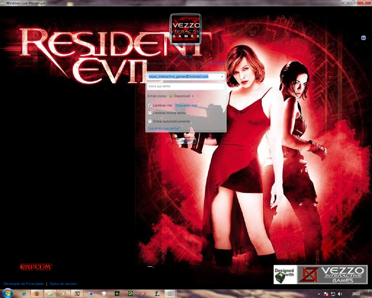 Download Skin-Msn 2009 Re Hóspede Maldito