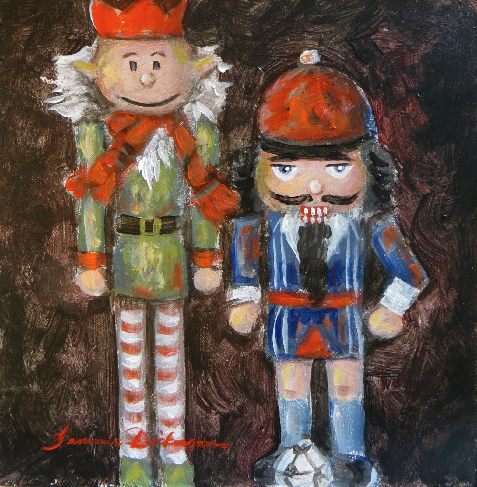 Making And Painting Nutcrackers