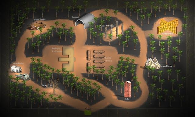 Mapa do Game Slender