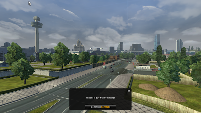 Euro Truck Simulator 2 city