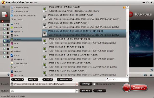 mkv to iphone 5s 5c video converter