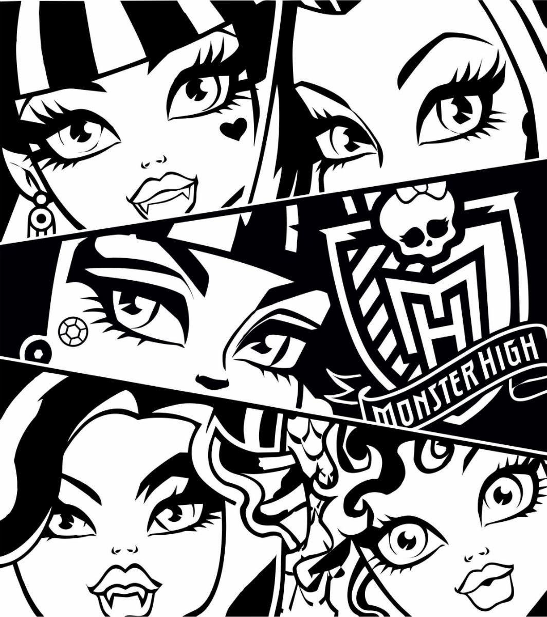 Armario Para Cozinha Pequena De Parede ~ COLORINDO COM AS LEMBRANCINHAS RCBX Desenhos para imprimir e colorir Monster High