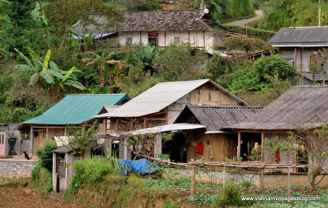Village de Na Khèo, Commune de Bac Ha, Lao Cai