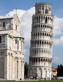 Sejarah Menara Pisa (Menara Miring Pisa) Italia
