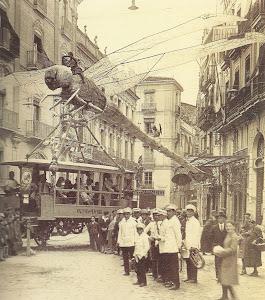 Falla Plaza Mariano Benlliure 1928.