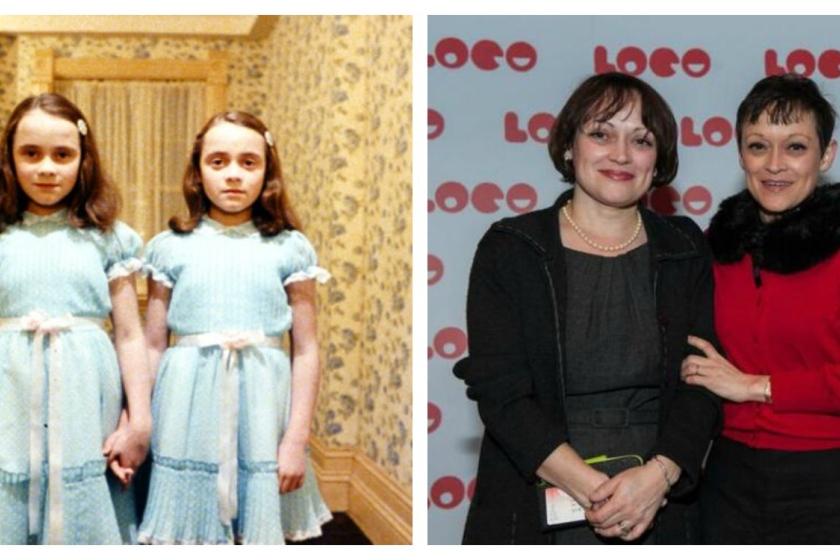 Lisa y Louise Burns fueron las gemelas de 'El Resplandor'