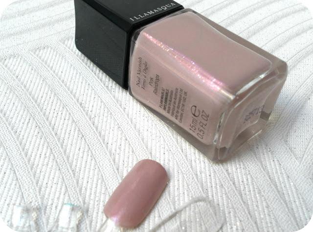 A picture of Illamasqua Pink Raindrops polish