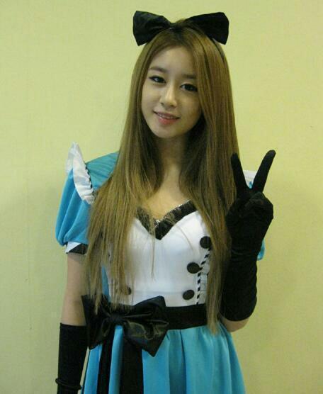 Foto Jiyeon dari Aplikasi Android T-ara