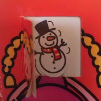 advent calendar snowman