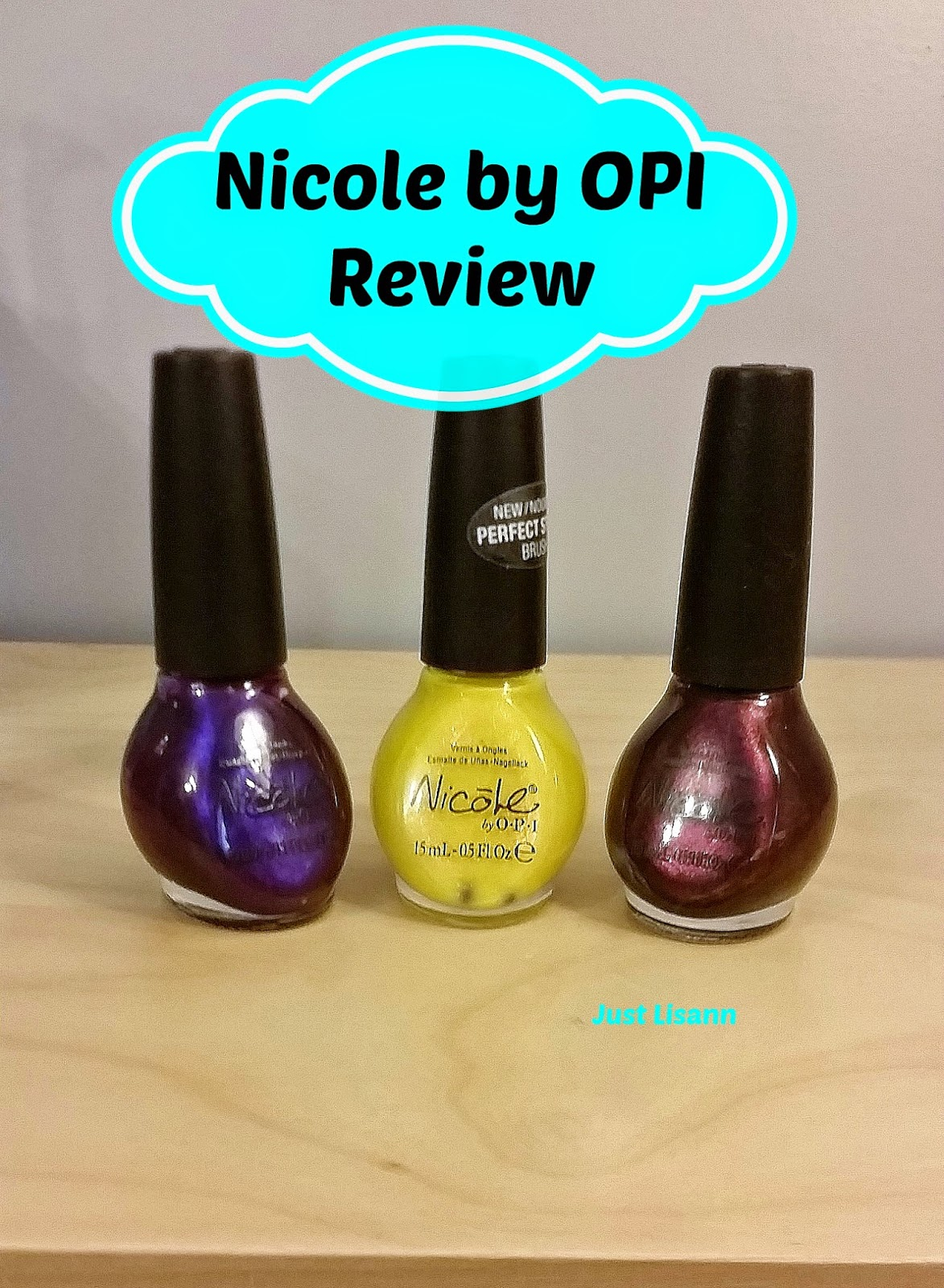 nicole nail polish review