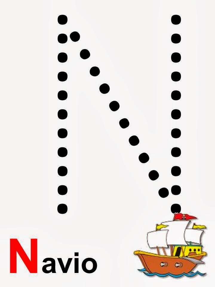 alfabeto navio