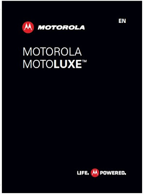 Motorola MOTOLUXE manual