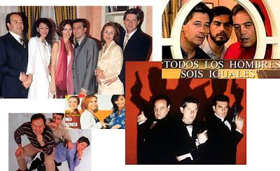 Imágenes de la serie de Telecinco Todos los hombres sois iguales