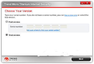 trend micro reset trial
