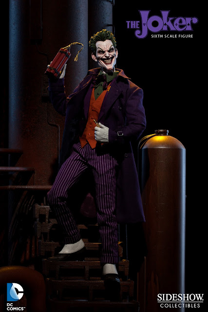 Sideshow collectibles inaugural dc sixth scale figure the joker 12