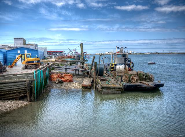 Scene From a Pier