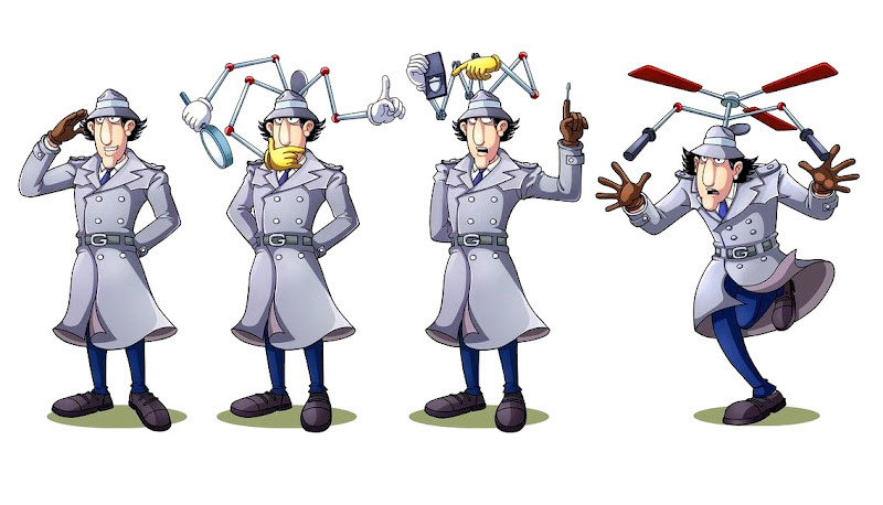 Inspecteur gadget cartoon porn