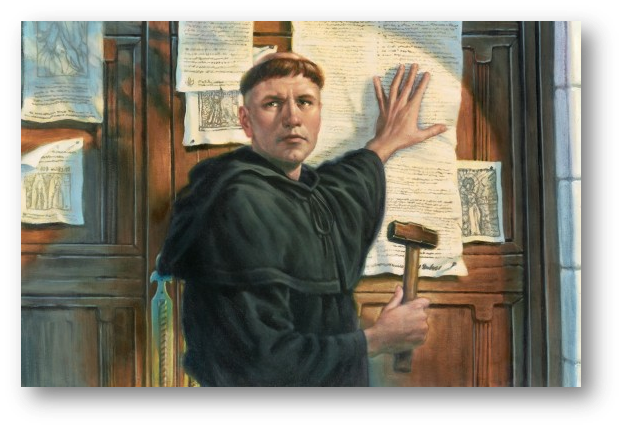 Protestant reformation thesis statement