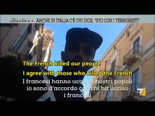 Ρεπορταζ σοκάρει την Ιταλία: Καλά έκαναν στους Γάλλους, 8 Δεκέμβρη θα χτυπηθεί και η Ρώμη! Μην τα βάζετε με τον Αλλάχ