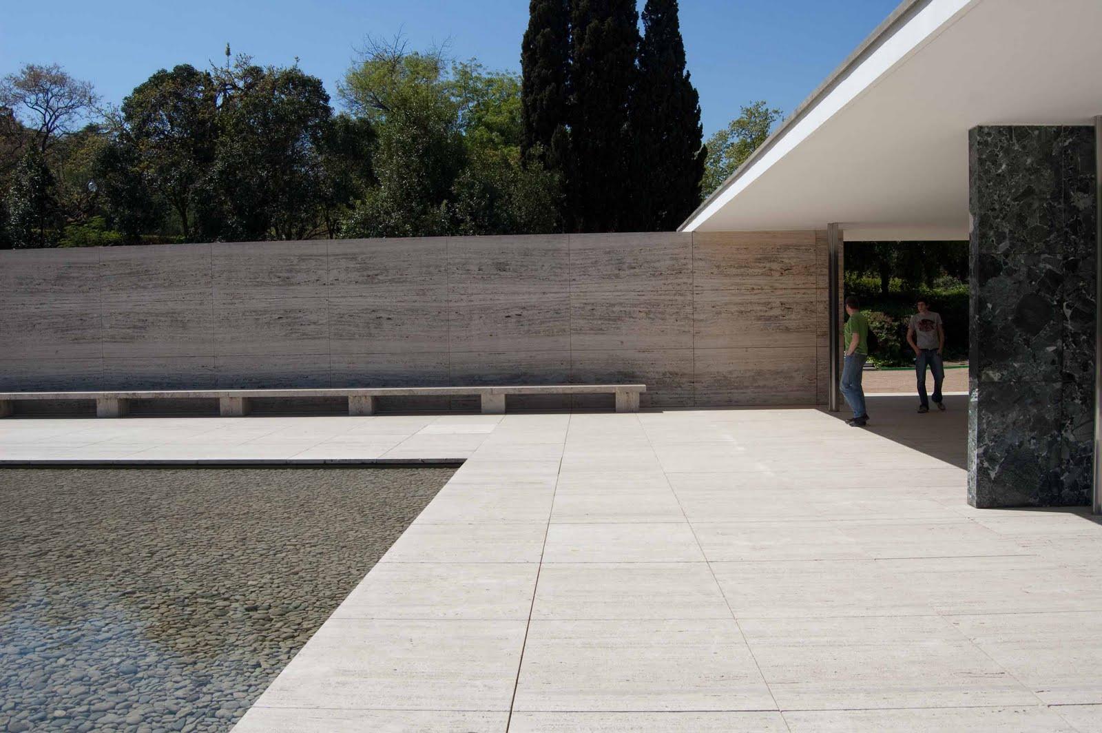 Arquitectura 1 agg pabellon de barcelona mies 1929 - Agg arquitectura ...