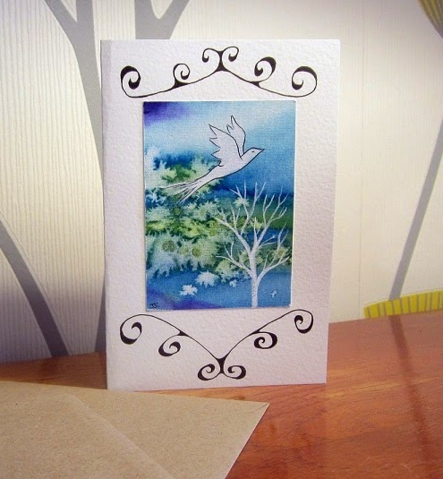 Hand painted cards for Spring!
