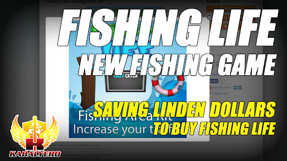 Saving Linden Dollars To Buy Fishing Life ★ A New Second Life Fishing Game