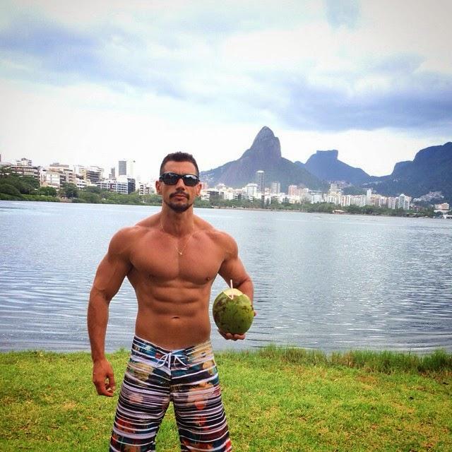 Personal Bruno Maia na Lagoa Rodrigo de Freitas. Foto: Arquivo pessoal