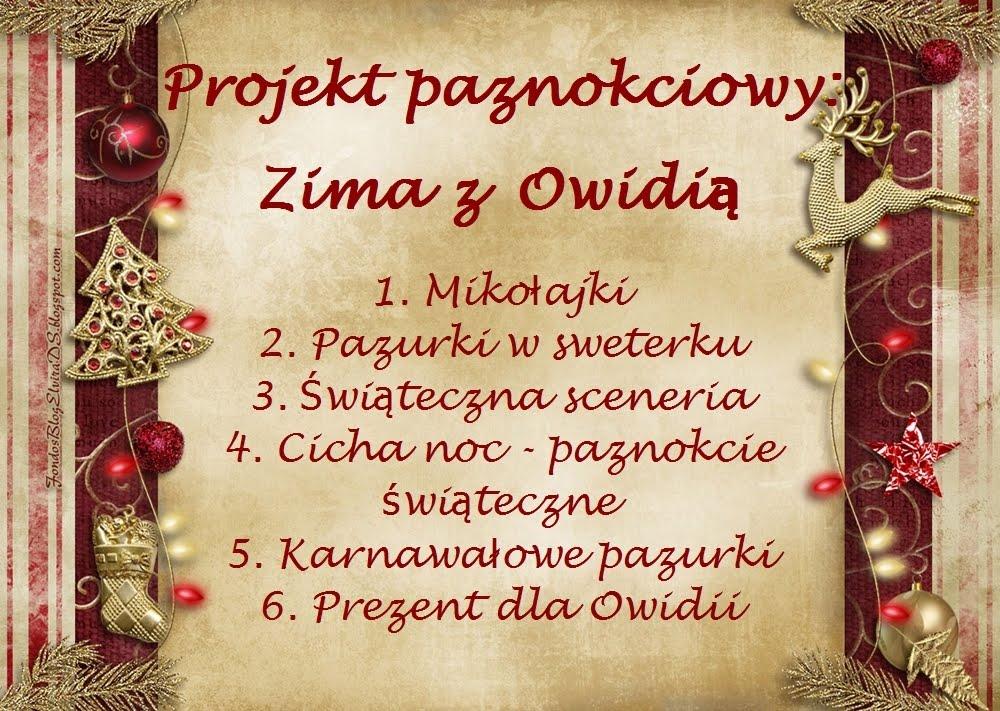 Projekt paznokciowy: Zima z Owidią