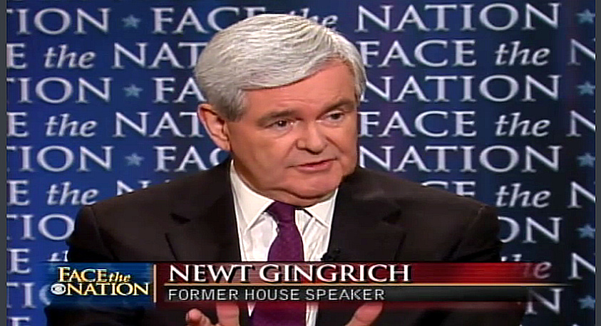 Newt Gingrich Face The Nation