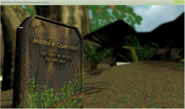 Lápide do jogo - inspirado em Chaves e Legião ^_^