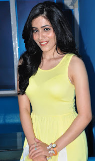 Gazala Somaiah in a lovely Transparent Yellow Tank Top Cute Beauty Spicy Pics