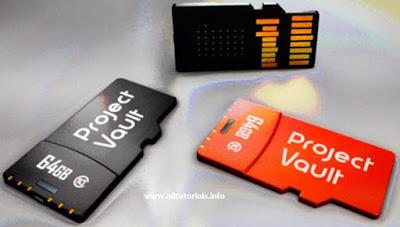 Project Vault, Sistem Keamanan Komputer Sebesar micro-SD