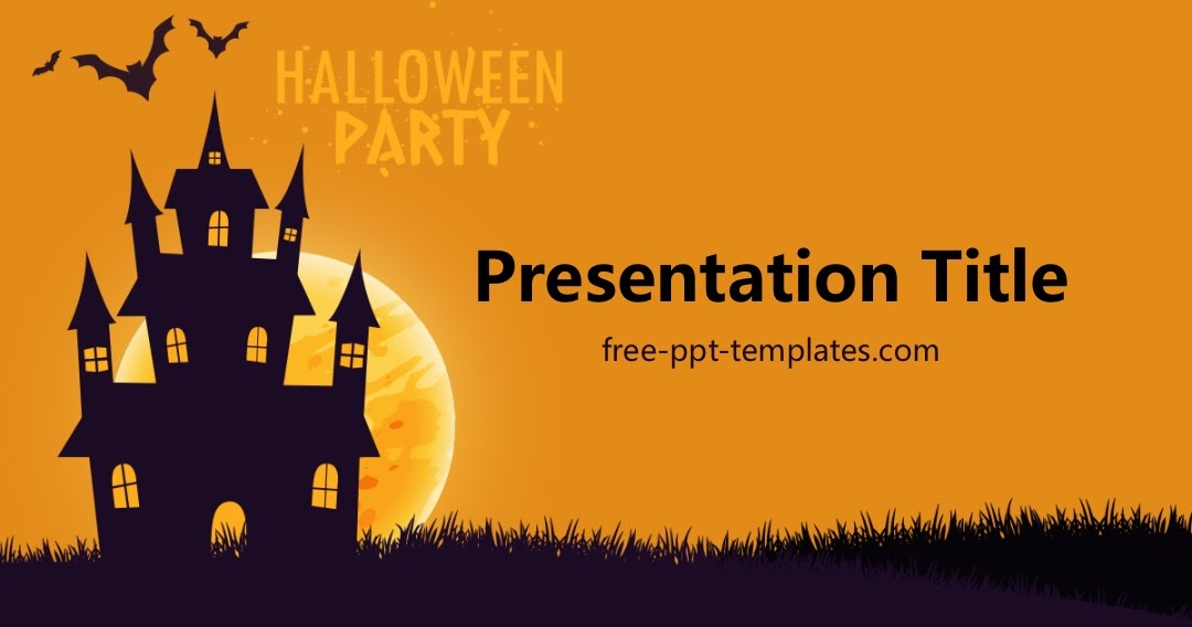 Free Halloween Powerpoint Template Mandegarfo
