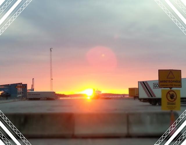 Destination Gotland, sunrise, ferry, Nynäshamn