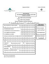 DECLARATION DES REMUNERATIONS VERSEES A DES TIERS