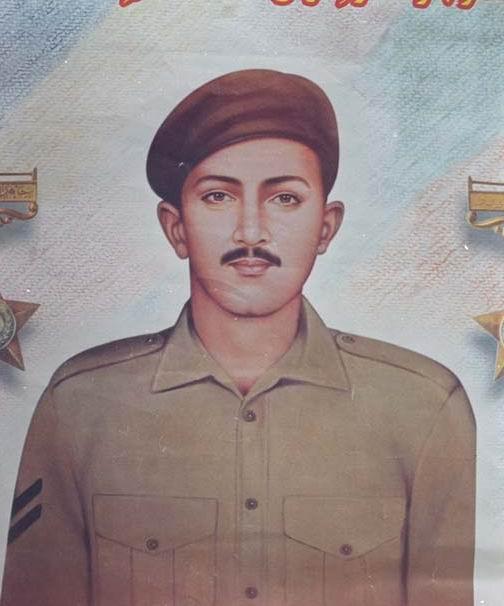 Naik Saif Ali Janjua Shaheed Nishan-e-Haider