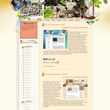 Your Lerisure Time at Honduras template blog from wordpress. travel blog template. template blog from wordpress. template travel for blogger